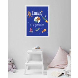 Children customised name Wall Art