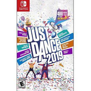 In Stock! Just Dance 2019 Nintendo Switch Game