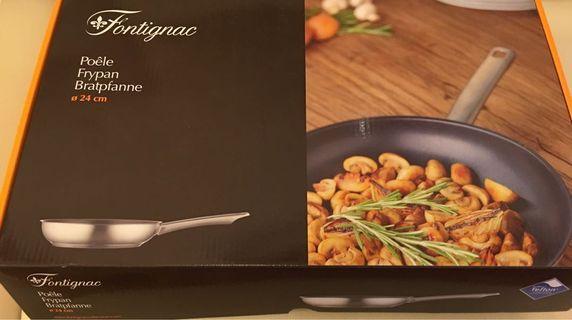 法國品牌Fontignac 24cm不鏽鋼煎Pan (Frypan 24cm)