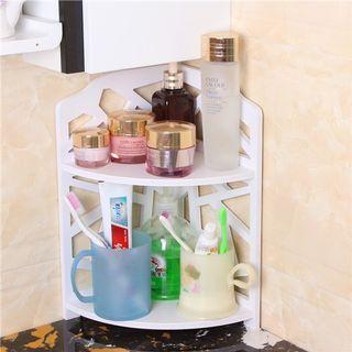 ready stock  waterproof space saver corner storage rack