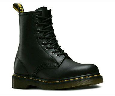 ❤️BRAND NEW 1460 Dr. Martens Black Leather Nappa UK 3 in Original Packaging (from Platypus)