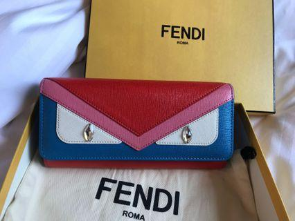 REPRICED! HARD TO FIND! Fendi Continental Wallet Vit Elite