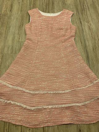 Blum Tweed Flare Dress