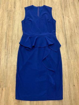 Saturday Club Peplum Dress