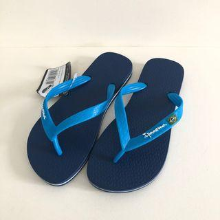 Ipanema 巴西尺寸36(巴西國旗經典人字夾腳拖鞋-藍色)