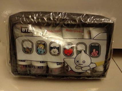 BT21/BTS travel kit (Body Care/perawatan tubuh)
