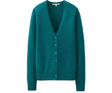 Turquoise Cardigan