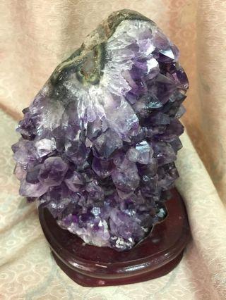 🚚 紫水晶 晶柱 異像水晶 天然水晶