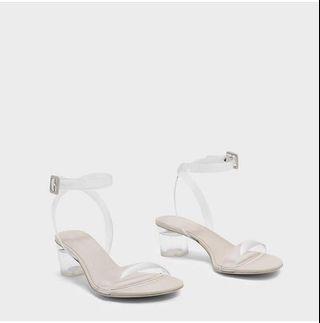 White Heels transparan