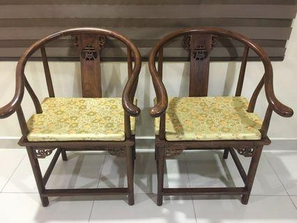 Oriental Antik Solid Wood Antique Chairs