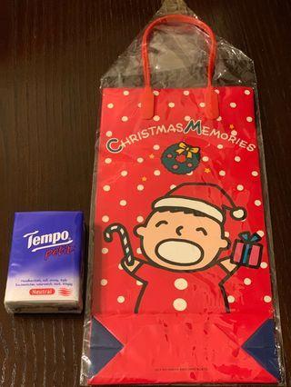 大口仔聖誕禮物袋1988年產