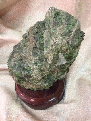 🚚 綠幽靈 水晶柱 異像水晶 共生礦