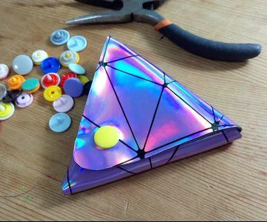 Handmade Holographic Pouches