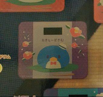 Sanrio Tuxedosam 和果子企鵝電子磅 electronic scale