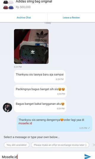 Real testimoni from our lovely customer🧡