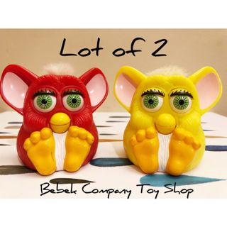 2個合售 美國 1998 McDonald's 麥當勞 老玩具 Furby 菲比 菲比小精靈 絕版玩具 古董 二手玩具