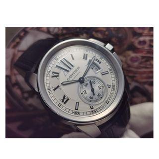 Authentic Cartier Calibre Watch