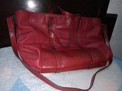 Zara's Bag -maroon