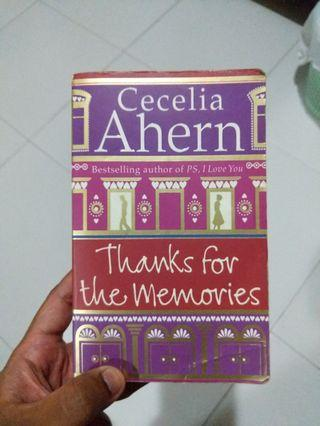 🚚 Thanks for the memories by Cecelia Ahern #ENDGAMEyourEXCESS