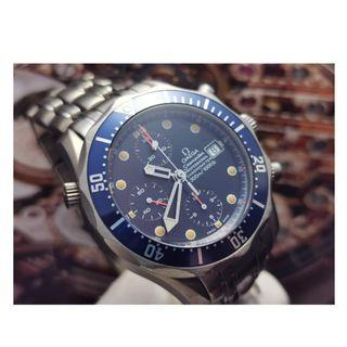 Authentic Omega Seamaster Watch