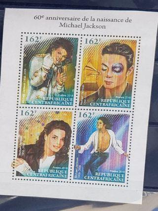 絕版 Michael Jackson 郵票  罕見 稀有