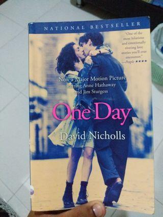One Day by David Nicholls #ENDGAMEyourEXCESS