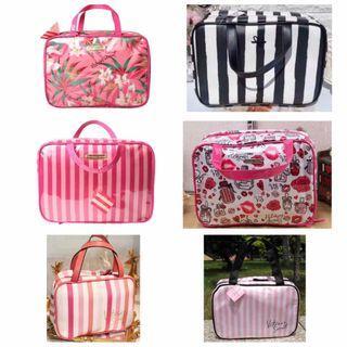 [PO] Victoria's Secret cosmetics/ makeup/ travel bag/ case/ box/ pouch $40