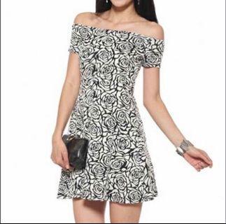 Love Bonito Off Shoulder Dress