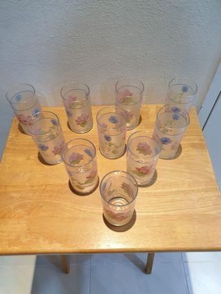 10 new drinking glasses