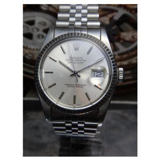 Authentic Rolex Datejust Watch