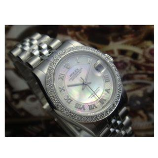 Authentic Rolex Oyster Perpetual DateJust Watch