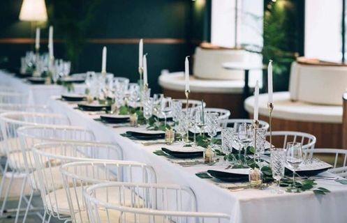 Customised table florals decorations for your wedding