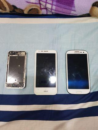 iPhone 4,Asus,Samsung零件機