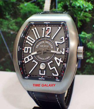 Brand New FRANCK MULLER Vanguard 44mm Brushed Titanium Automatic Men's watch.