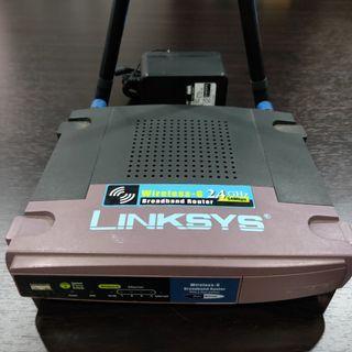 Linksys WRT54GL Wireless-G WiFi Router