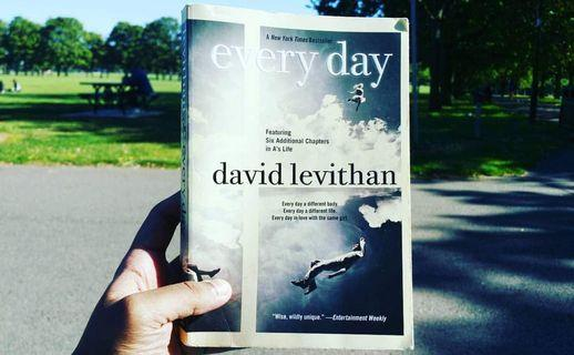 🚚 Every Day by David Levithan #ENDGAMEyourEXCESS