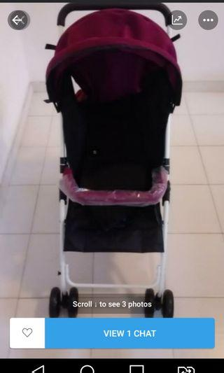 Brand new Baby Stroller baby wt 12kg collect hougang ave 5
