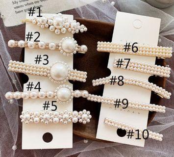 Jepitan elegant pearl klip korea