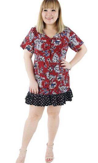 Plus size Voycestas Dress #EndGameYourExcess