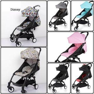 Cabin Approved Travel Stroller Full Recline