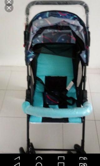 Brand new Baby Stroller baby wt 18kg