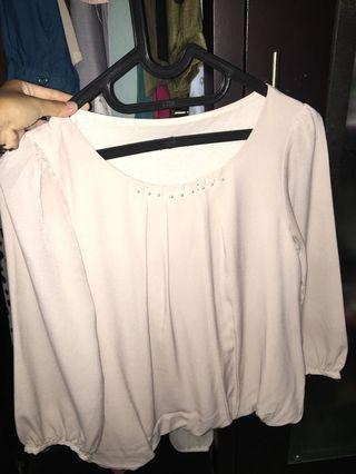 babypink blouse