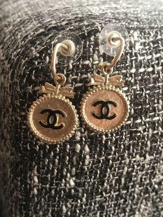 Chanel 正品真品耳環 vintage
