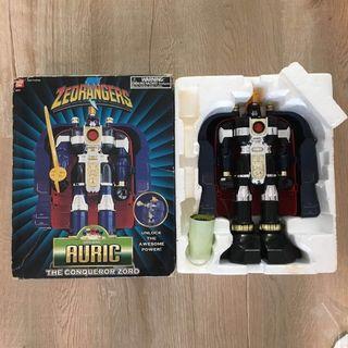 Deluxe auric megazord the conqueror Zord robot zeorangers vintage toy dx gunmazin sentai power rangers series