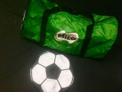 Foldable Milo Duffle Bag