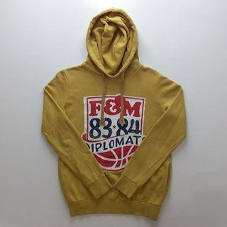Yellow Hoodie Basic Franklin