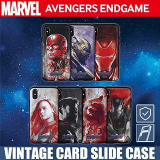 Authentic Avengers End Game Card Slide Case