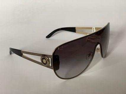 Versace shield unisex sunglasses RRP $299