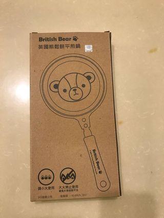 英國熊🐻鬆餅煎鍋   全新