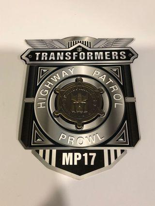 Transformers Masterpiece MP-17 Prowl Coin